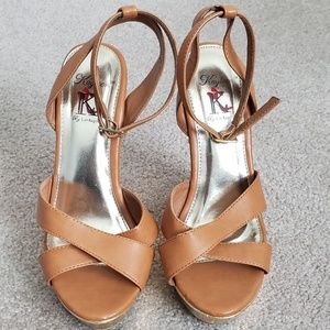Kayleen Wedge Sandals